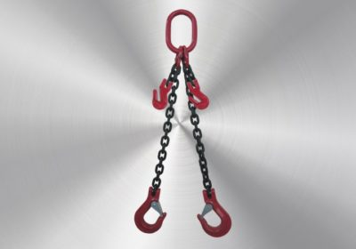2-leg 6mm with fork hooks with valve and shortening hooks 4m