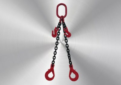 2-leg 13mm with fork safety hooks and shortening hooks 3,5m